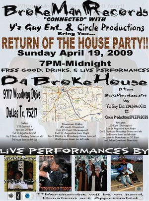 RETURN OF THE HOUSE PARTY!!