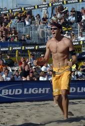 1/2 Rock Star and 1/2 Athlete   - Pro Beach Volleyball-
